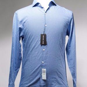 NWT Michael Kors  Cotton Button Down Dress Shirt
